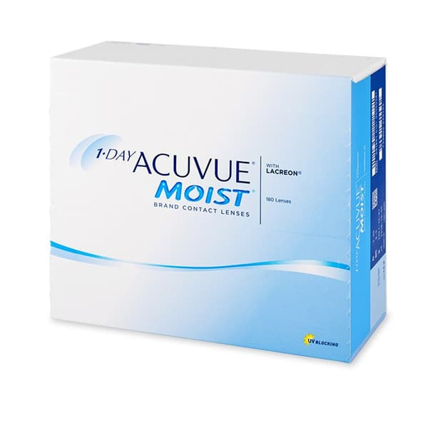 1 Day Acuvue MOIST 180L