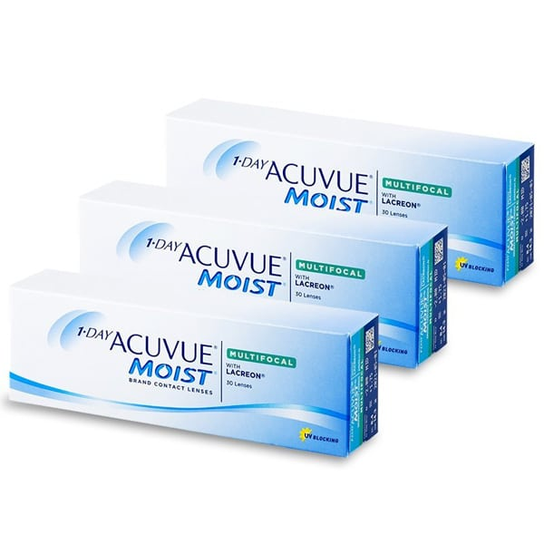 1 Day Acuvue MOIST Multifocal 90L