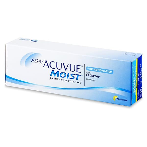 1 Day Acuvue MOIST Toric for Astigmatism 30L