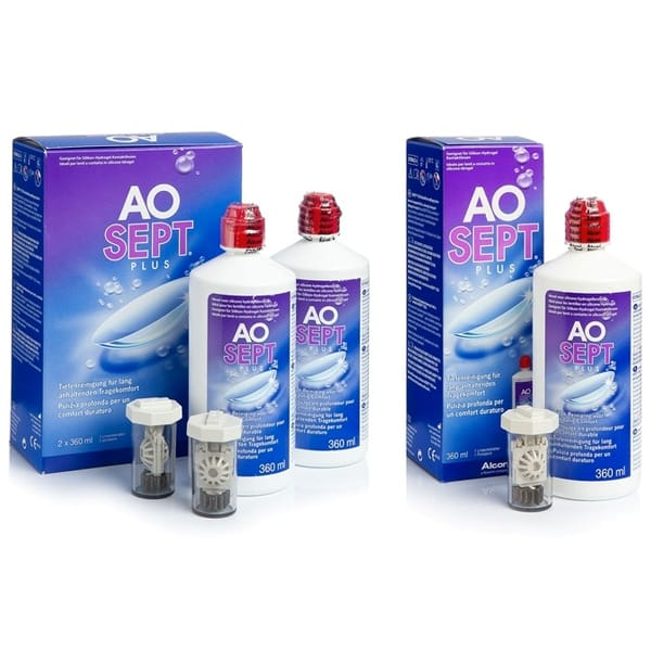 Aosept Plus Hydraglyde 3x360 ml