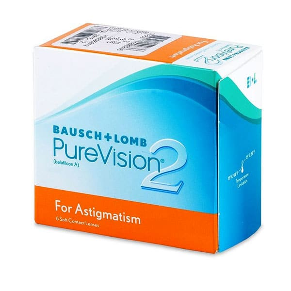 Bausch+lomb PureVision 2 for Astigmatism 6L