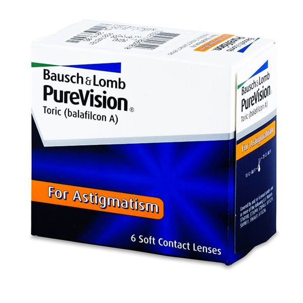 Bausch+lomb PureVision Toric 6L