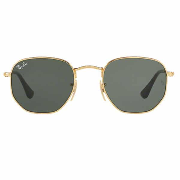 Ray-Ban RB3548N 001 HEXAGONAL