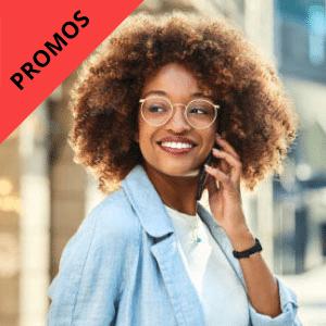 Promos lunettes de vue femme