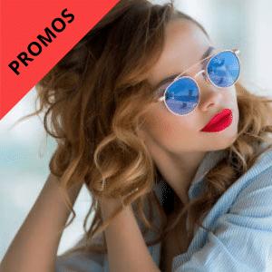 Promos lunettes de soleil femme